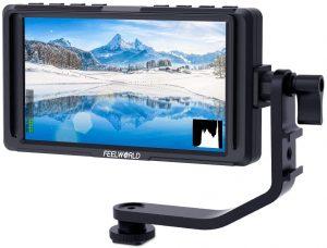 FEELWORLD F5 5-Inch DSLR on Camera Monitor