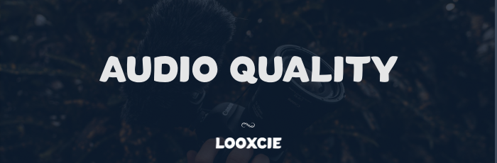 audio quality on youtube and vlogging microphones