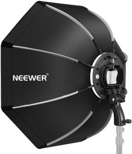 Neewer 26 inches Octagonal Softbox with S-type Bracket Mount