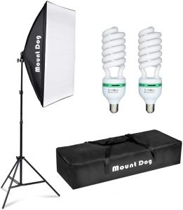 The EMART-600W Continuous Lighting Kit
