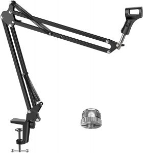 Microphone Suspension Stand with Screw Adapter by InnoGear