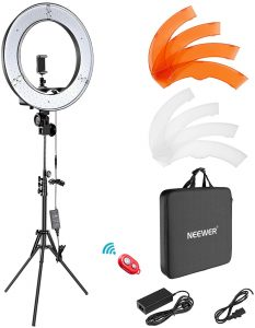 55W 5500K Dimmable LED Ring Light