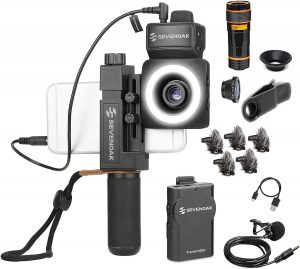 SmartCine W1 YouTuber Kit with Phone Rig for iPhone and Android by Movo