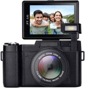 GordVE Waterproof Vlogging Camera