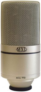 MXL 990 Connector Condenser Microphone